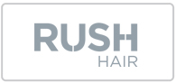 Up to 25% off Rush Hair Logo