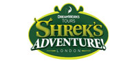 40% saving at Shrek's Adventure Logo