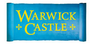 Save up to 45% off admission to Warwick Castle Logo