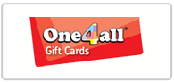 6.5% off One4all gift cards Logo