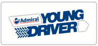 20% off Young Driver Logo