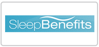 Up to 50% off with Sleep Benefits Logo